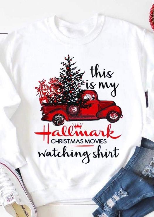 Hallmark Christmas Movies Watching Shirt Sweatshirt