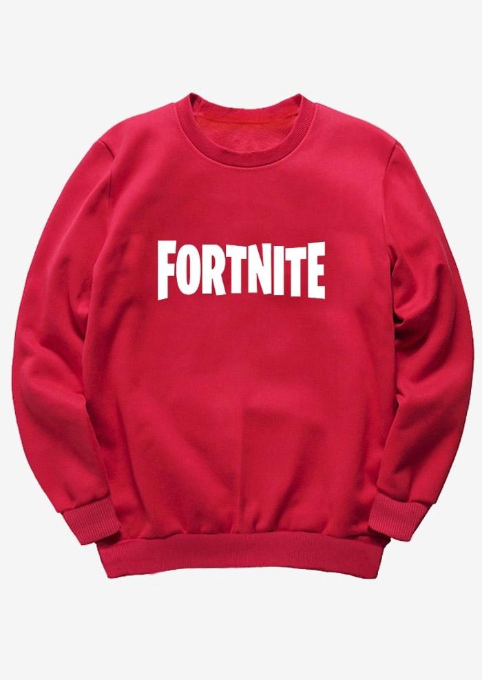Fortnite O-Neck Long Sleeve Sweatshirt
