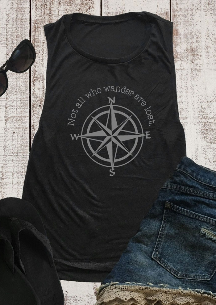 Not All Who Wander Are Lost Tank