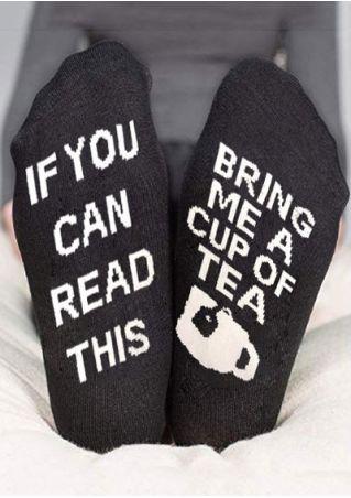 Bring Me A Cup Of Tea Socks
