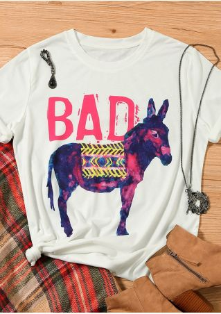 Bad Ass Donkey T-Shirt Tee
