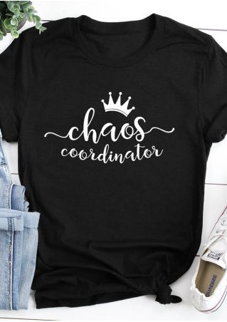 Chaos Coordinator Crown T-Shirt Tee