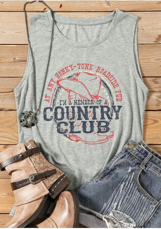 I'm A Member Of A Country Club Tank Top