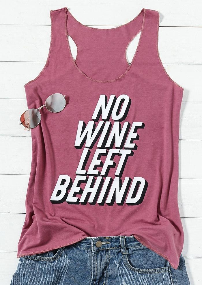 No Wine Left Behind Tank