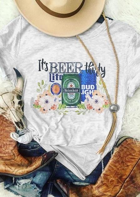 It's Beer Shirty Shirt T-Shirt Tee