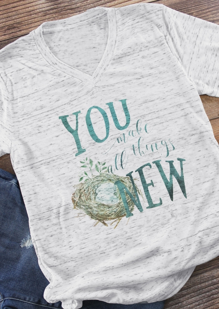 You Make All Things New T-Shirt Tee