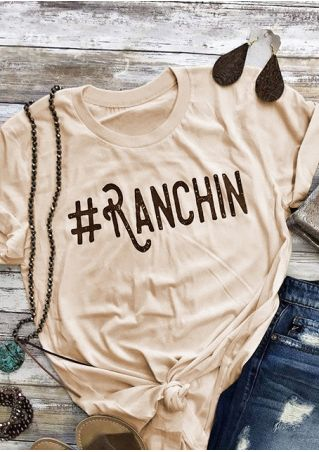Ranchin Short Sleeve T-Shirt Tee