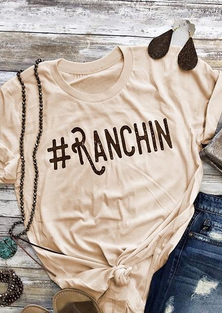 Ranchin Short Sleeve T-Shirt Tee