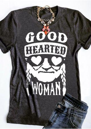 Good Hearted Short Sleeve T-Shirt Tee