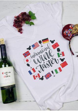 International Wine Taster T-Shirt Tee