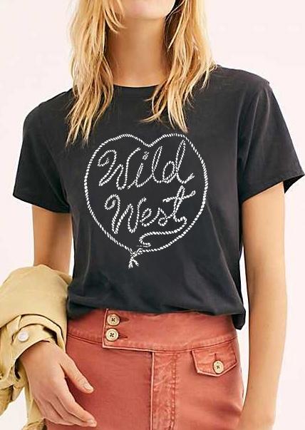 Wild West Valentine T-Shirt Tee