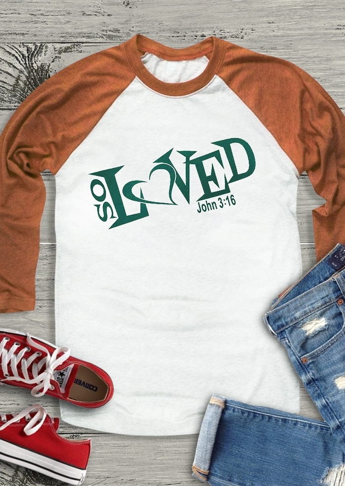 So Loved Baseball T-Shirt Tee