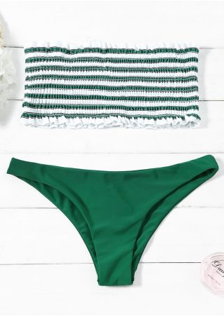 Striped Sexy Bikini Set