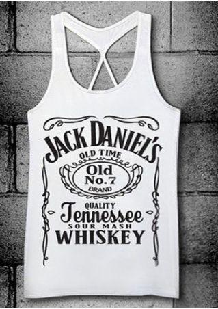 Jack Daniel's Whiskey Tank