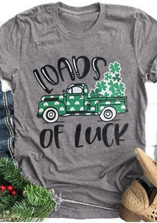 Loads Of Luck Car T-Shirt Tee