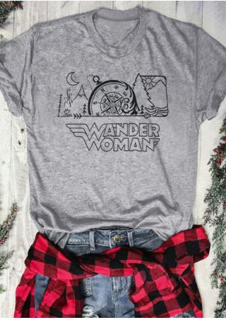 Wander Woman O-Neck T-Shirt Tee