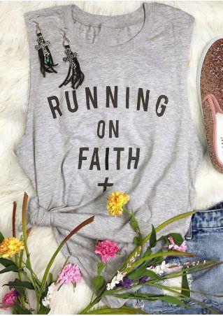 Running On Faith O-Neck Tank