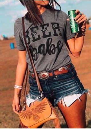 Beer Babe Short Sleeve T-Shirt