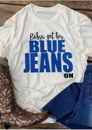 Baby's Got Her Blue Jeans On T-Shirt Tee