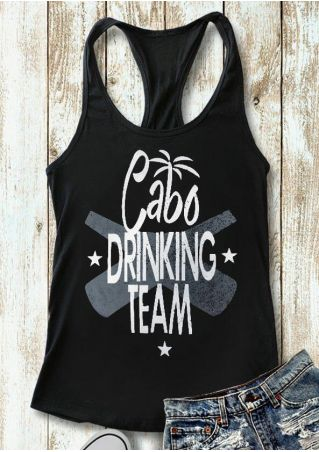 Cabo Drinking Team Tank