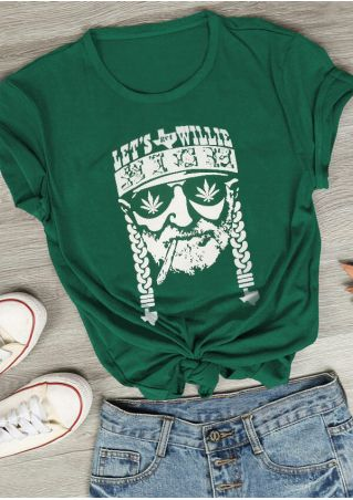 Let's Get Willie High T-Shirt Tee
