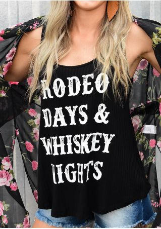Rodeo Days & Whiskey Nights Tank