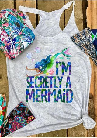 I'm Secretly A Mermaid Tank