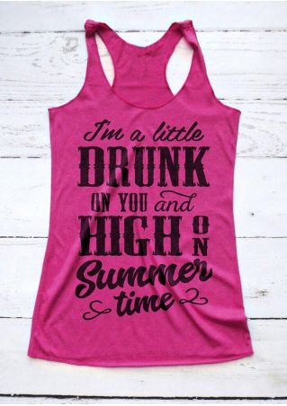 Drunk On You And High On Summer Time Tank