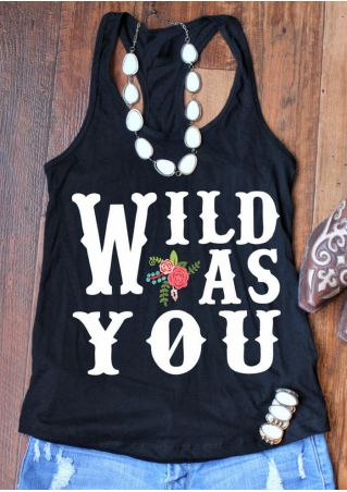 Wild As You Floral Tank