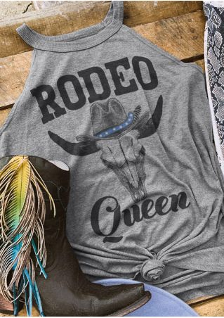 Rodeo Queen O-Neck Tank