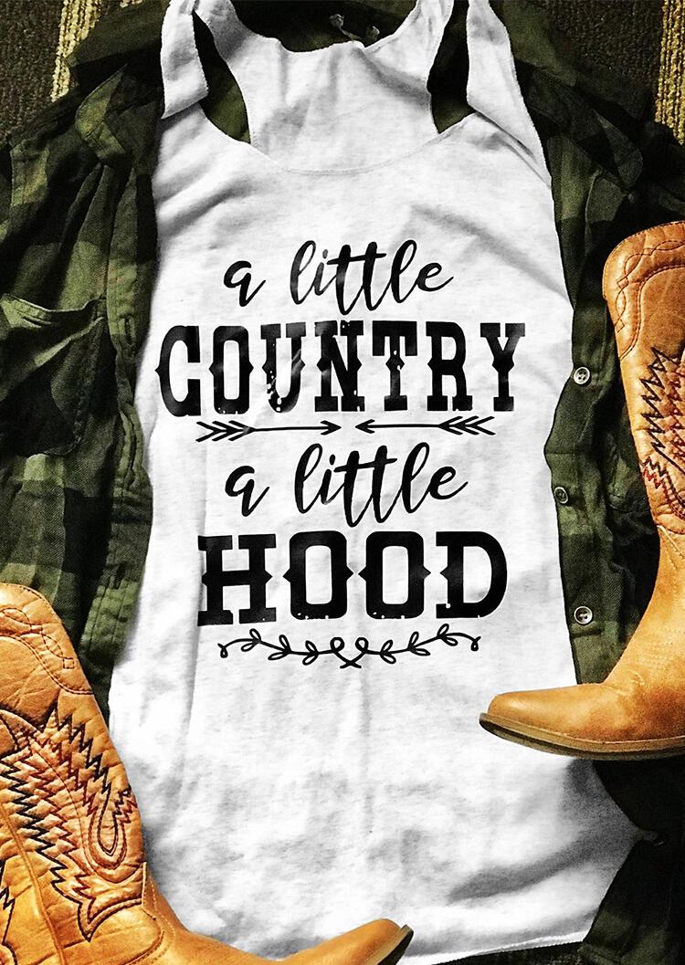 A Little Country A Little Hood Tank