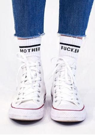 Mother Fucker Casual Socks