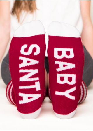 Santa Baby Casual Socks