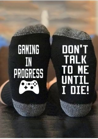 Gaming In Progress Socks