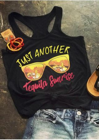 Just Another Tequila Sunrise Tank