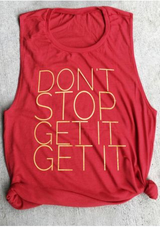 Don't Stop Get It Tank