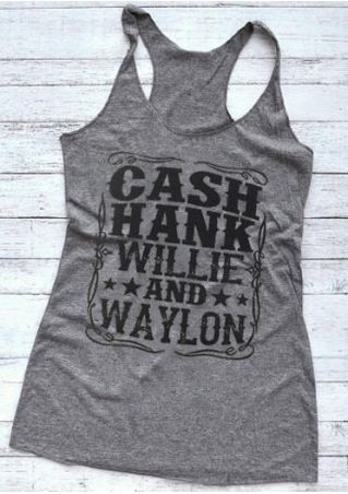 Cash Hank Willie And Waylon Tank