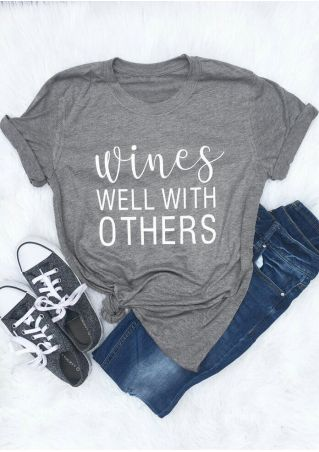 Wines Well With Others T-Shirt Tee