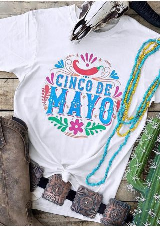 Cinco De Mayo T-Shirt Tee