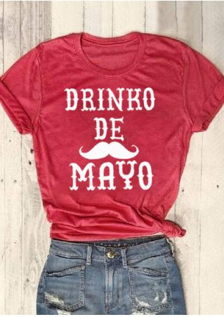 Drinko De Mayo O-Neck T-Shirt Tee