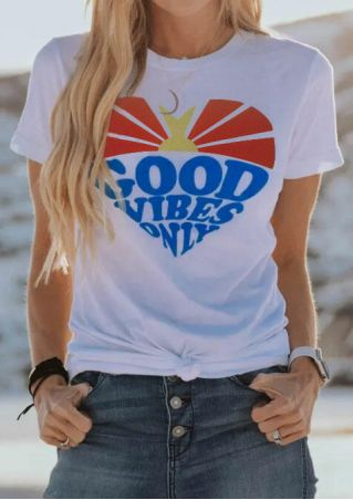 Good Vibes Only T-Shirt Tee