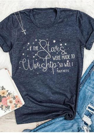 Stars Were Made To Worship T-Shirt Tee