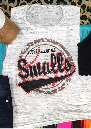 You're Killin' Me Smalls Tank - White