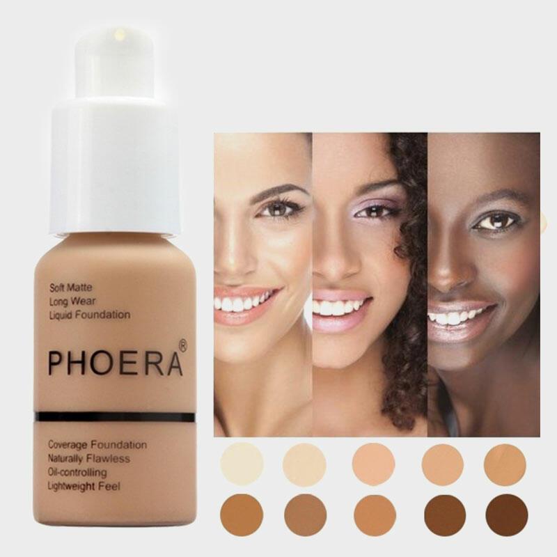 10 Color Concealer Foundation Cream