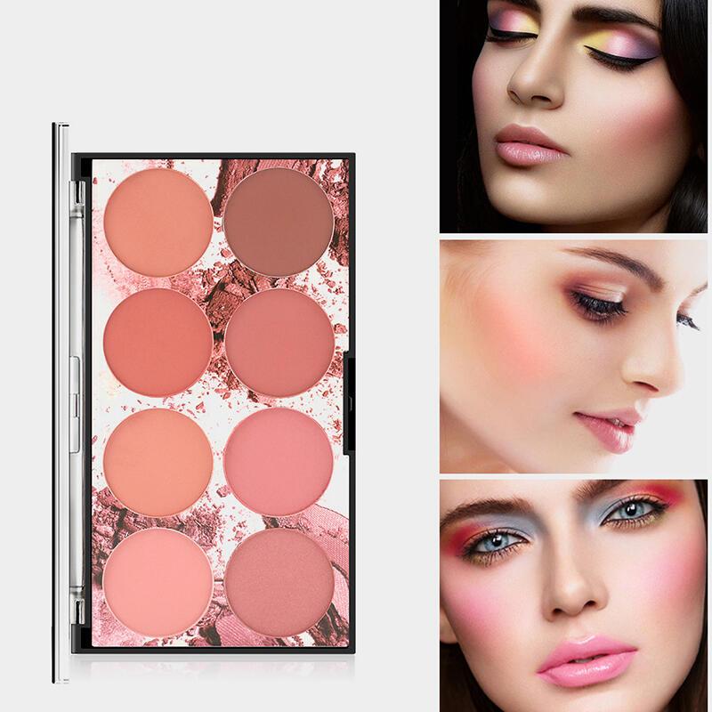 8 Color Makeup Blush