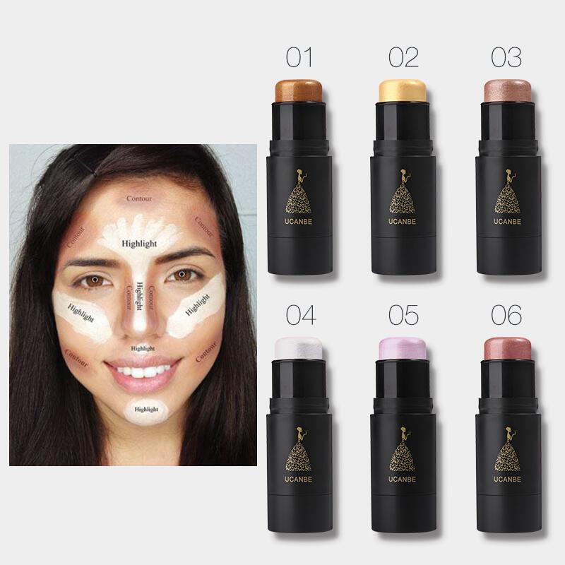 6 Color Makeup Concealer Highlight