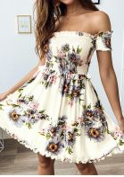 New Look Floral Pattern Dress