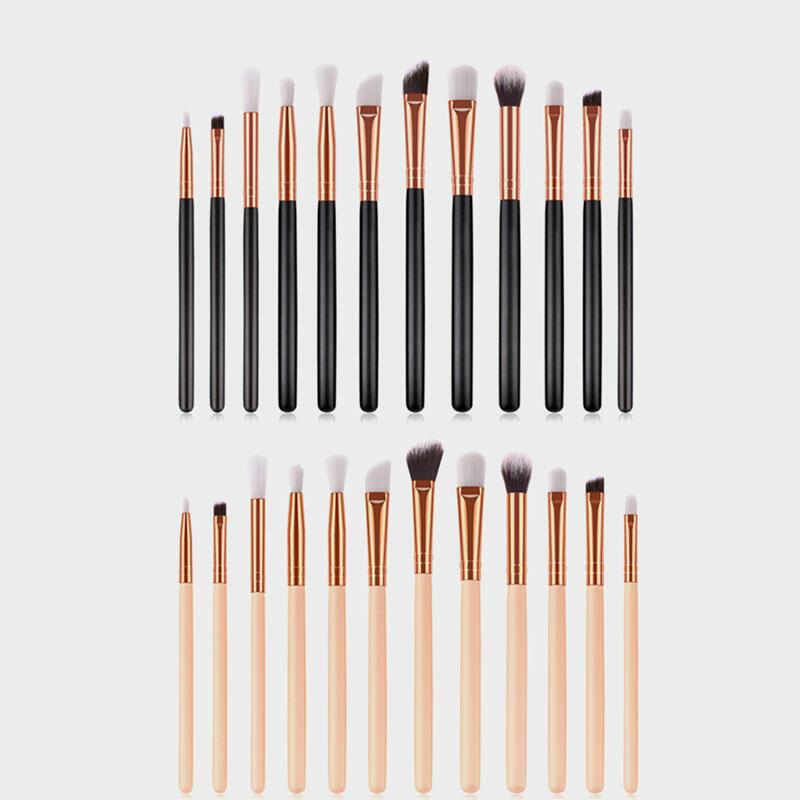 12Pcs/Set Eye Makeup Brush Set