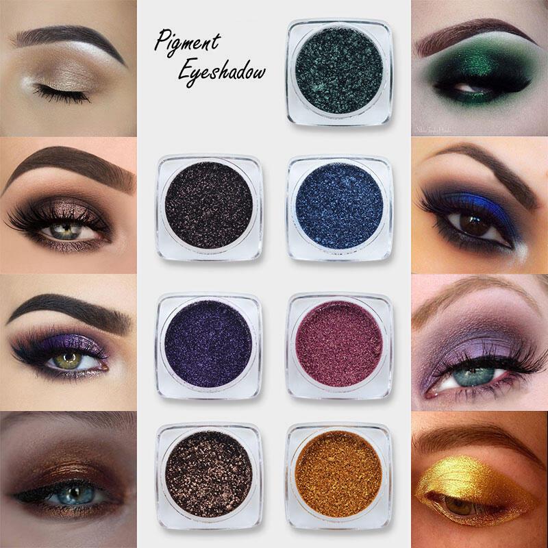 12 Color Pearl Eye Shadow Powder