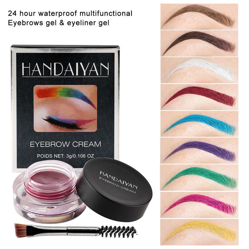 12 Color Eyebrows Gel Eyeliner Gel
